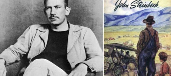 Τζον Στάινμπεκ : Ο συγγραφέας που προσπαθεί να εξηγήσει τα ανεξήγητα