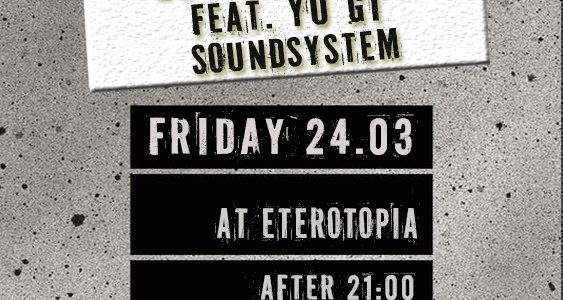 Lunar Moods ft. YU GI soundsystem at Eterotopia (Παρασκευή 24.03, 22:00)