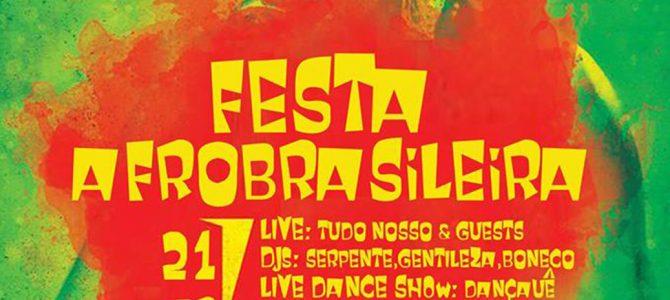 Dançauê Festa Afrobrasileira στην Ετεροτοπία | Sat. 21.03, 22:30